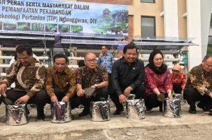 Nglanggeran Jadi Pilot Project Taman Teknologi Pertanian di Indonesia