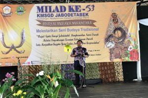 Kang Hero Lakukan Orasi Budaya di Milad Ke 53 Keluarga Mahasiswa Gunung Djati (KMSGD)