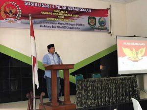 Herman Khaeron Gandeng KODIM 0620 Kabupaten Cirebon Gelar Sosialisasi 4 Pilar Kebangsaan