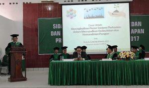 Herman Khaeron Berikan Orasi Ilmiah Pada Wisuda Sarjana Diploma IV STTP Medan