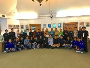 Diskusi Bersama Ikatan Mahasiswa Teknik Industri se Wilayah Jawa Barat