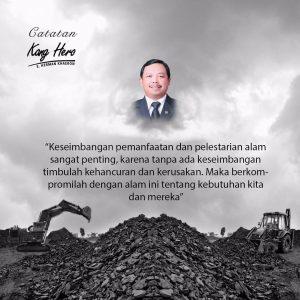 #CatatanKangHero Keseimbangan Pemanfaatan dan Pelestarian Alam Sangat Penting