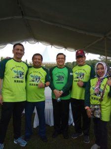 Jalan Sehat Nasional dan Silatnas Alumni HMI se-Indonesia di Bali
