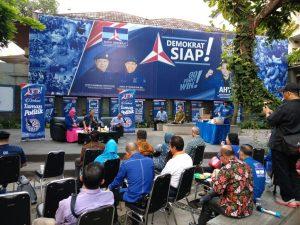 Diskusi Taman Politik Demokrat S14P Menangkan Pemilu 2019