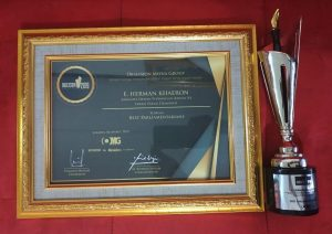 Herman Khaeron Raih Best Parliamentarian Pada Obsession Awards 2019