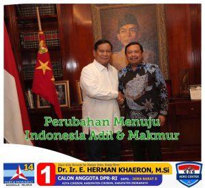 Kang Hero: Perubahan Menuju Indonesia Adil dan Makmur