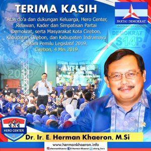 Terimakasih Atas Do'a dan Dukungannya dari Warga Kota Cirebon, Kabupaten Cirebon, & Kabupaten Indramayu