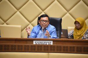 Komisi II Perjuangkan Wakada Dapatkan Kewenangan Secara Jelas