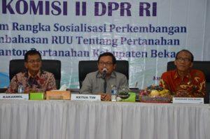 Komisi II Apresiasi Kinerja Kantor BPN Kabupaten Bekasi