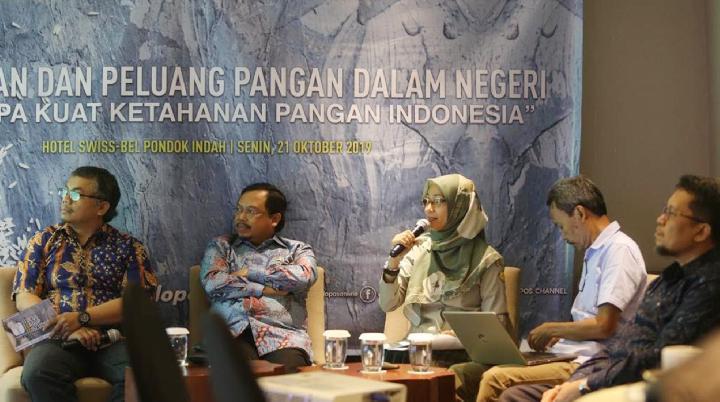 Wujudkan Ketahanan Pangan Nasional Butuh Keputusan Politik yang Kuat