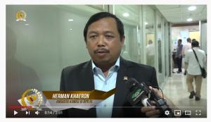 [Video] Tanggapan Herman Khaeron Mengenai Larangan Kelapa Sawit di Uni Eropa