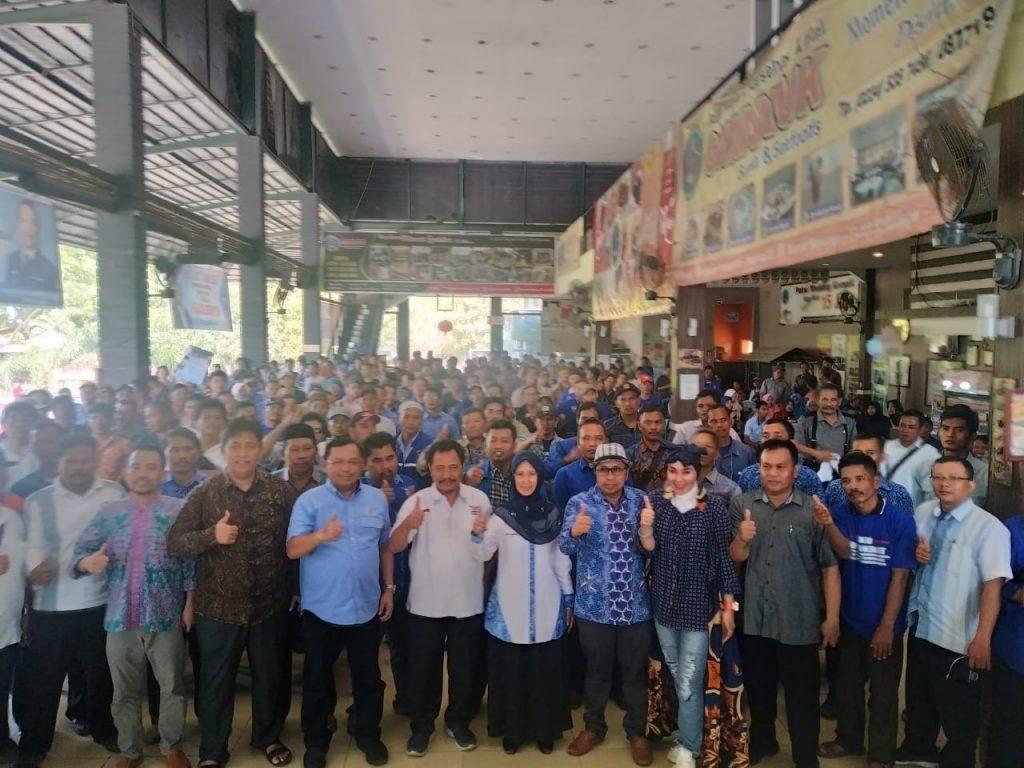 Ratusan Kader Demokrat Dukung Dokter Ratna Maju Pilkada Indramayu