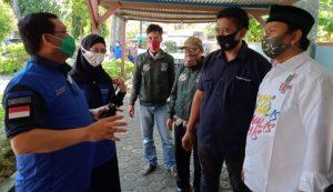 Kompak Jadi Pasangan Bacabup-Bacawabup, Ratnawati dan Sholihin Kunjungi Kantor Biro Radar Indramayu