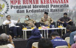 Diskusi Empat Pilar MPR RI