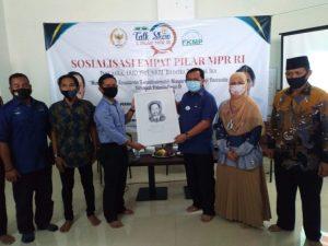 Jawa Barat : DPR RI Herman Khaeron Sosialisasi Empat Pilar Bersama Forum Komunikasi Mahasiswa Pantura
