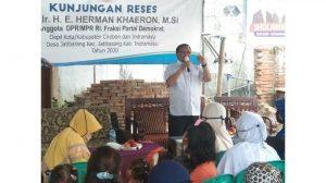 Di Indramayu, Herman Khaeron Minta Masyarakat Hindari Ketertarikan Memilih Atas Dasar Politik Uang