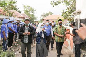Pasukan Ketu Siap Blusukan, Kenalkan Visi Misi Paslon Nomor 1 Sholawat