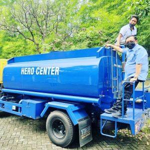 Distribusi Air Bersih Gratis Bagi Warga Cirebon