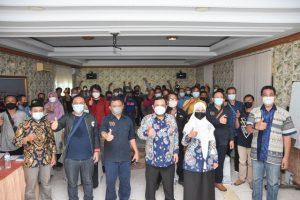Sosialisasi 4 Pilar, Herman Khaeron Ajak Wartawan Indramayu Jaga Keutuhan NKRI